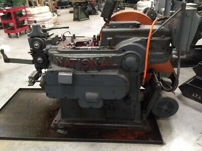 $6100 • Buy NATIONAL MACHINERY DSSD COLD HEADER 3/16  Machine #18001 MADE IN THE USA!