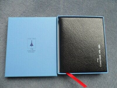 British Airways Concorde Smythson Of Bond Street Leather Diary 2004 Boxed • 30£