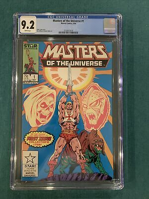 $49.95 • Buy Marvel Masters Of The Universe #1 CGC 9.2  Key First Issue!! He-Man, Skeletor!