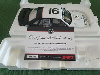 AU400 • Buy 1:18 1991 Bathurst 16 Hrt Vn Ss Group A Commodore Grice Percy Holden Hdt Hsv