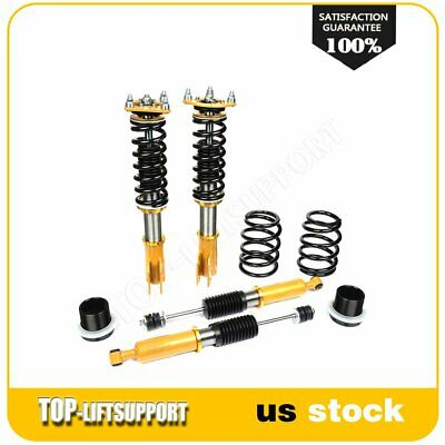 $304.49 • Buy For 1994-2004 Ford Mustang Coilover Shocks Struts Kits Adjustable Height