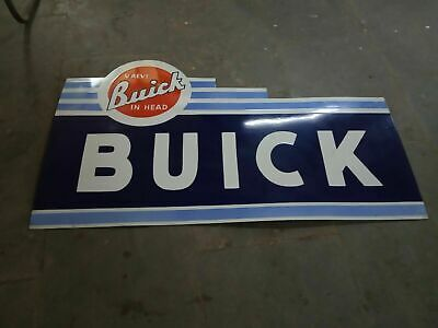 $ CDN25.89 • Buy Porcelain Buick Enamel Sign Size 48  X 28.5 Inches