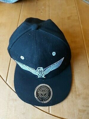 Boy London Gold Baseball Cap With RIngs - Black (Used) • 6.20£