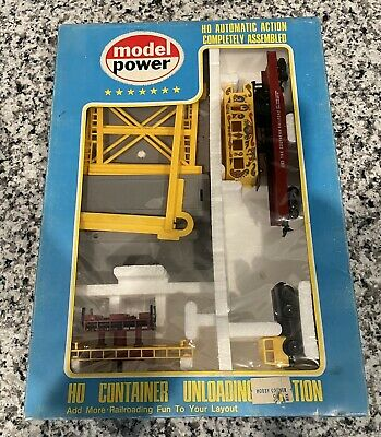 $ CDN63.13 • Buy Model Power HO Container Unloading Station Building Train 4172 Circus Car