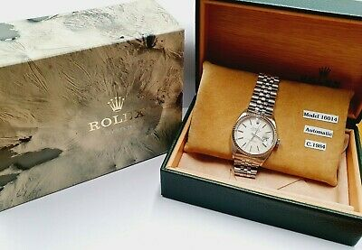 1984 Rolex Oyster Perpetual Automatic Gents Watch - 16014 Steel - Vintage • 3,895£