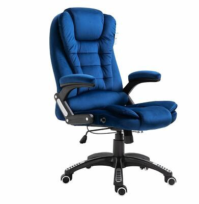 Executive Recliner Extra Padded Office Chair Swivel Modern Work Home Desk Study • 156.42£