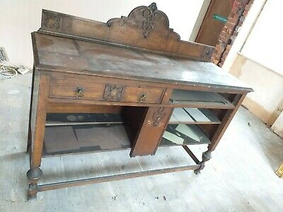 Cabinet Chest Vintage Retro Antique Wood Classic Collector Old Hand Made Quality • 49.99£