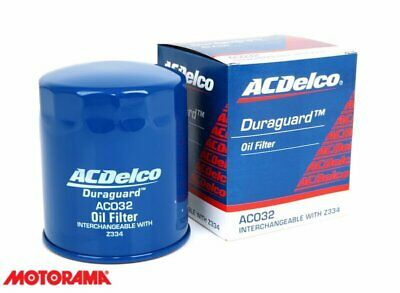 AU26.80 • Buy Genuine AC Delco Oil Filter AC032 Interchangeable With Z334 NEW GM#19266382