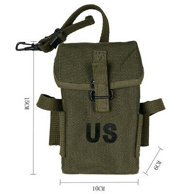 $34.99 • Buy US Vietnam War Army M1956 M14 Long Pack Bag Pouch Tool Kit Outdoor