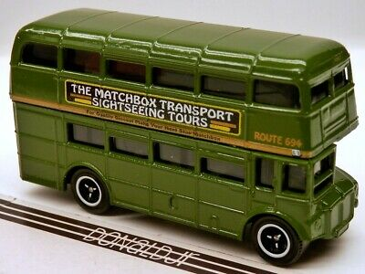 $ CDN16.28 • Buy Matchbox London Bus Olive Green Sightseeing Tours  AEC Routemaster Double Decker