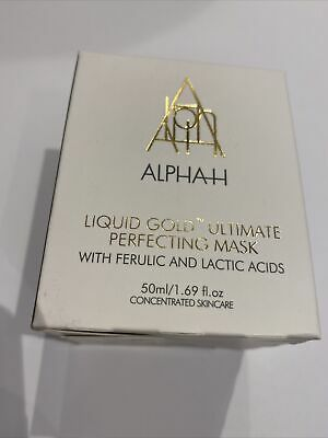 Alpha-H Liquid Gold Ultimate Perfecting Mask 50ml -  Brand New In Box/sealed • 14.95£