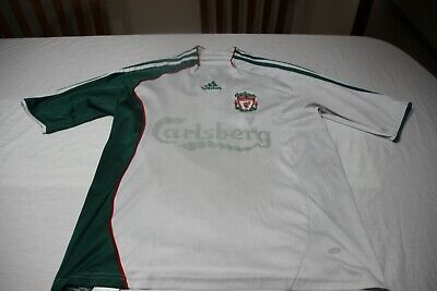 T-Shirt Football Of The Liverpool Brand Adidas Size M Carlsberg No 8 Gerrard • 13.24£