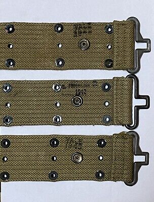 $34.95 • Buy ✅🔥 Original WW2 USMC US Army M1936 Utility Belt Marked And Dated 1942-1943