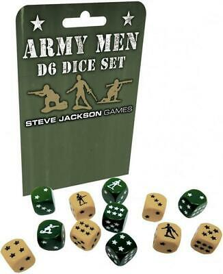 AU40 • Buy Army Men D6 Dice Set 16mm (12)