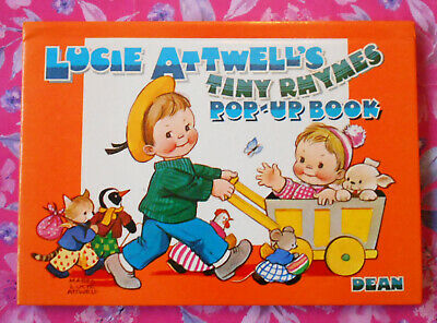 Lucy Atwell's Tiny Rhymes Pop-Up Book // Vintage 1982 Book • 7.50£