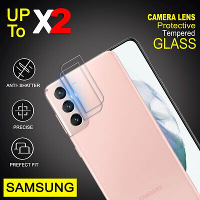 AU5.70 • Buy For Samsung Galaxy S21 S20 Plus Ultra FE Camera Lens Tempered Glass Protector