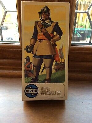 Vintage Airfix Plastic Model Kit Figure Oliver Cromwell 1/12 Scale Boxed • 14.50£