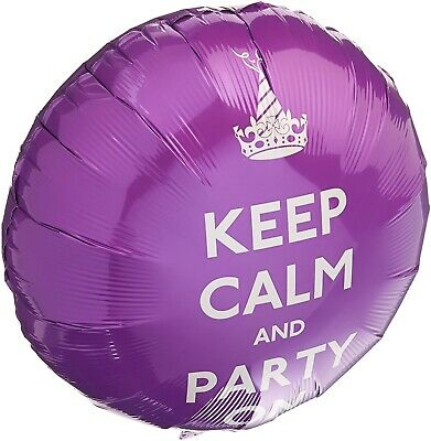 Keep Calm And Party On Novelty Balloon • 1.50£
