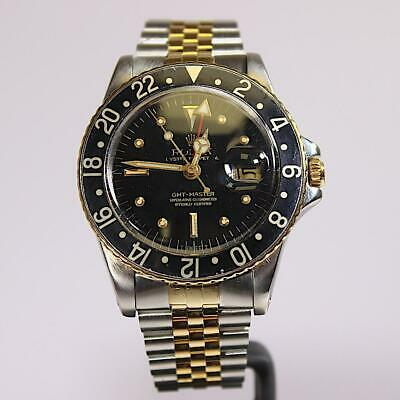 Rolex GMT-Master Black And Gold • 7,645£