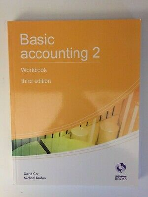 Basic Accounting 2 Workbook (AAT Accounting - Level 2 Cert... By Fardon, Michael • 7.99£