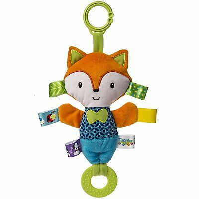 £11.49 • Buy TAGGIES Crinkle Me Squeaker FOX Colourful Crinkle Soother Buggy/Stroller Toy