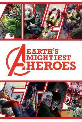 AVENGERS Earths Mightiest Heroes HC Graphic Novel 1st Print 2005 • 24.99£
