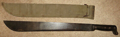 $175 • Buy WW2 1945 USMC MACHETE & SHEATH Legitimus Collins Doyt US MARINE CORPS US WWII