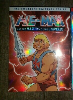 $18.50 • Buy HE-MAN AND THE MASTERS OF UNIVERSE DVD COMPLETE SERIES Lot
