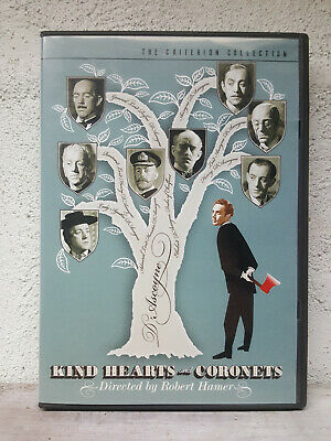 Kind Hearts And Coronets (DVD 2-Disc) OOP Criterion Collection 325 Alec Guinness • 84.30£