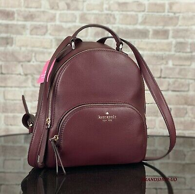 $ CDN137.84 • Buy KATE SPADE NEW YORK JACKSON MD PEBBLED LEATHER BACKPACK SHOULDER BAG $359 Cherry