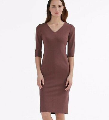 $125.99 • Buy MM Lafleur NWT Size 2 Cheerywood Chic Business Fitted Stretchy Mona Dress