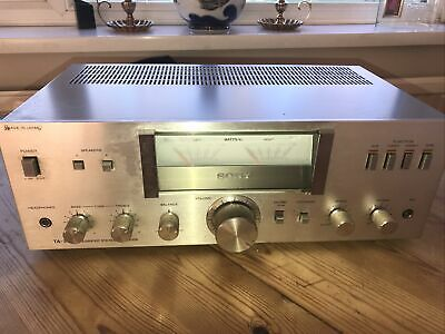 SONY TA-313 STEREO Integrated AMPLIFIER With Built In Phono Stage AMP HIFI • 35£