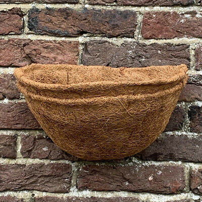 £8.99 • Buy Pack Of 2 Garden Co-Co Wall Basket Planter Coco Liner 30cm