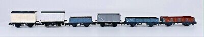 AU53.10 • Buy N Gauge Mixed Rake Of 6 Assorted Freight Wagons Vent/closed/mineral Grey Ub