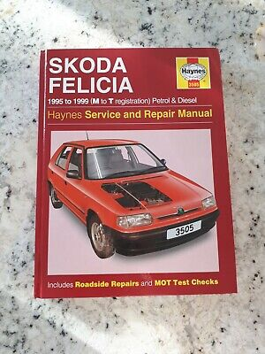 Haynes Skoda Felicia 1995 To 1999 Service And Repair Manual • 2.40£