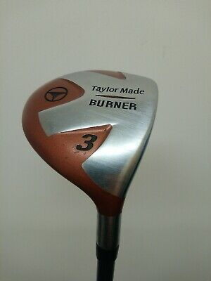 Taylormade Burner 3 Wood Bubble 2 Shaft 80 Regular / Headcover • 29.99£