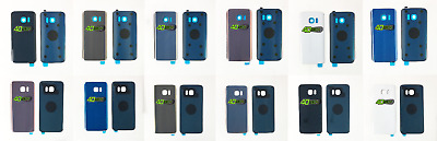 $ CDN9.77 • Buy Replacement NEW Samsung Galaxy S7 & S7 Edge Rear Back Battery Cover + Adhesive