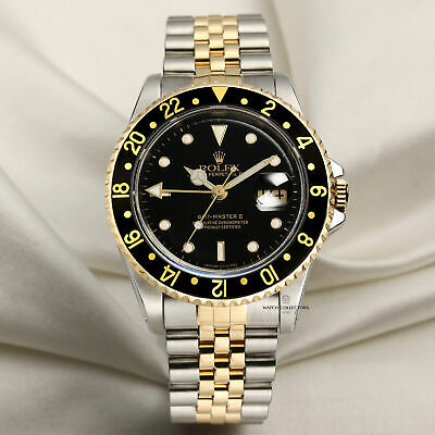 $ CDN16762.60 • Buy Rolex GMT-Master II 16713 Stainless Steel