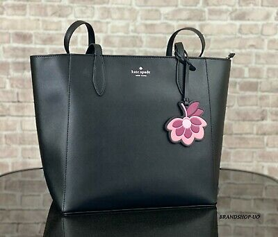 $ CDN132.89 • Buy KATE SPADE NEW YORK DANA LEATHER TOTE SHOULDER BAG PURSE $329 Black