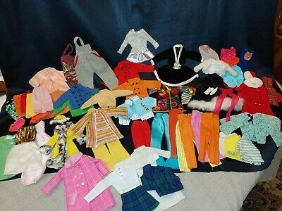 $ CDN26.07 • Buy Lot Of Vintage Barbie Clothes Clone Homemade