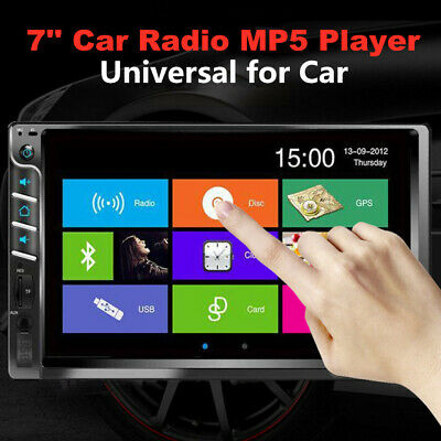 $65.99 • Buy 7  High-definition Touch Screen Bluetooth USB Car Radio Audio Video MP5 Player