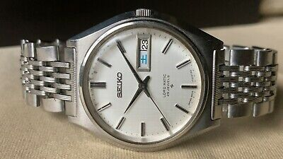 $ CDN49.60 • Buy Vintage SEIKO Automatic Watch/ LORD MATIC LM 5606-7010 25J SS 1968 Original Band