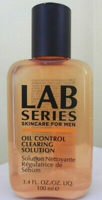 Lab Series For Men Oil Control Clearing Solution 100ml Brand New • 14.95£