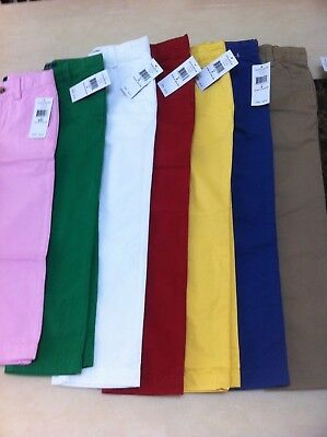 £14 • Buy Ralph Lauren Boy's Chino Trousers Age 2-7 Years Various Colours BNWT