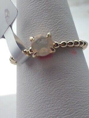 0 32ct Ethiopian Opal Midas Ring. Gold Plated Sterling Silver. • 15£