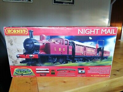 Hornby R1144 Night Mail Boxed 00 Gauge Train Set With 0-6-0 Locomotive/TPO & Mat • 30£