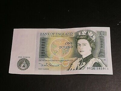Bank Of England One Pound £1 Note Dx26 Crisp • 1£