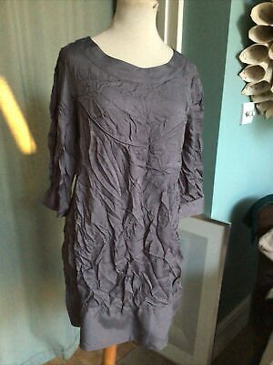 Tunic Top By Limited Collection M&S Grey Size 14  • 4.50£