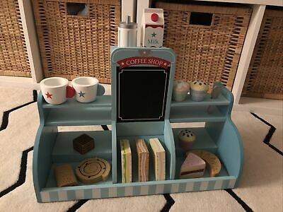 GLTC Wooden Cafe Table Top Toy Role Play Kitchen Food Shop RRP £70 • 20£