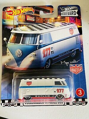 AU20 • Buy Hot Wheels, Boulevard, VOLKSWAGEN T1 PANEL BUS